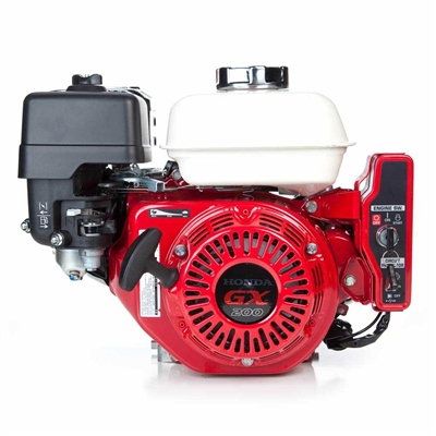 HONDA GX 200 Gas Engine with Electric start and Recoil Pull Start