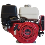 HONDA GX 390 Gas Engine with Electric start and Recoil Pull Start