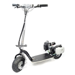 Go-PedGSR46R with gas engine GoPed, Go Ped, Black