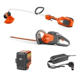 Husqvarna Trimmer 336LiC & Hedge Trimmer 115iHD55 With Battery & Charger Included Combo Deal