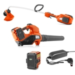 Husqvarna Trimmer 336LiC & Blower 320iB With Battery & Charger Included Combo Deal