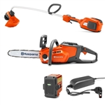 Husqvarna Trimmer 336LiC & Chainsaw 120i With Battery & Charger Included Combo Deal