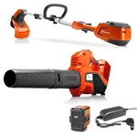 Husqvarna 115iL Trimmer & 436LiB Blower Combo Pack Includes Battery & Charger
