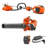 Husqvarna 520iLX Trimmer & 320iB Blower Combo Pack Includes Battery & Charger