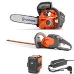Husqvarna Battery Series Combo Deal On T535iXP Chainsaw & 115iHD55 Hedger With Battery & Charger Included