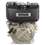 "Kohler 9 HP Diesel Engine With Electric Start and Recoil Start Horizontal 1"" X 3-9/16"" Shaft KD440-2001B, KD440-2001"