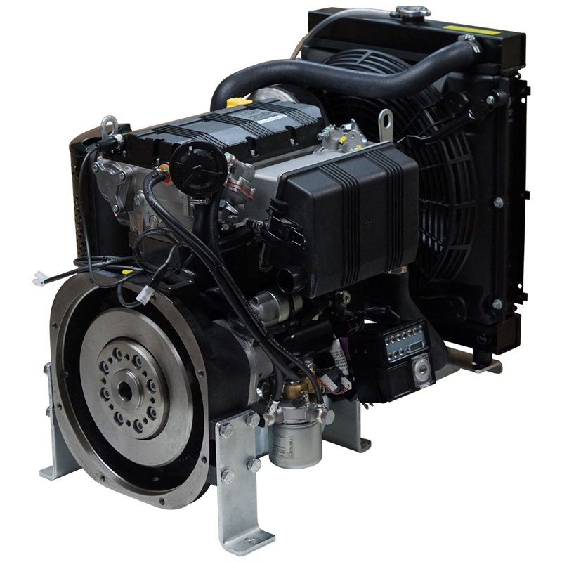Kohler Kdw1003 23hp Sel Engine Electric Start