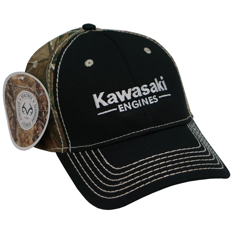Black, Small Kawasaki Mesh Hat