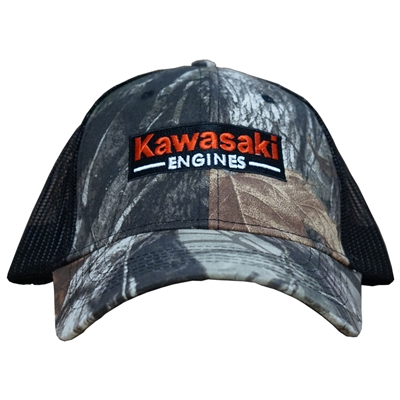 Kawasaki Camo Breathable Adjustable Mesh Hat