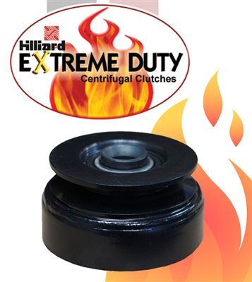"Hilliard Extreme Duty Clutch 3/4"" Inch Bore.  3 11/16"" Inch Pulley O.D. For 1/2"" Inch W 'A' Belts And 5/8"" Inch 'B' Belts"