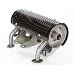 Honda Muffler Kit, Right Mount V2MFLRHIR