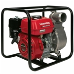Honda 3-inch water pump with recoil start WB30