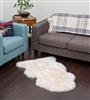 NZ Sheepskin Rug | Champagne Single Sheepskin
