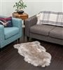 NZ Sheepskin Rug | Stone Single Sheepskin