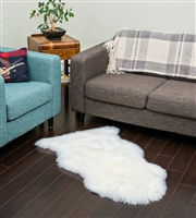 NZ Sheepskin Rug | White Single Sheepskin