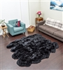 Black NZ Shearling Rug