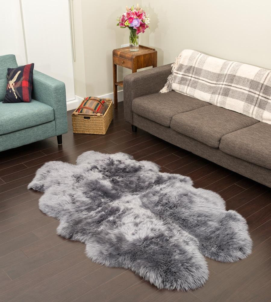 Quad Sheepskin Grey