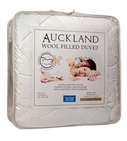 Wool Filled Duvet - Twin Bed