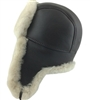 B3 Bomber Sheepskin Hat