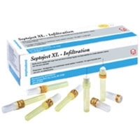Septoject XL Infiltration Needles, 100/Box, 01-N1500