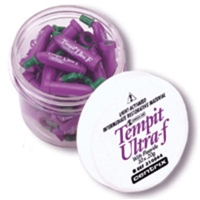 Tempit Ultra-F Prefilled Tips, 0.20 g, 30/Jar, 310064