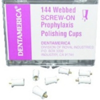 Prophy Cups Screw-On, 144/Box, 402