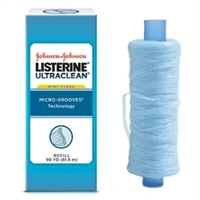 Listerine Ultraclean Spool Refill, Mint, 90 yards, 44032
