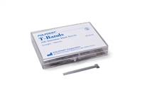 T-Bands Narrow, Stainless Steel, Straight, 4 mm, 100/Box, BTSS/N
