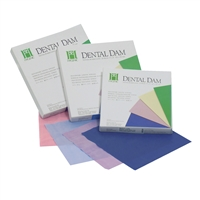 "Hygenic Dental Dam 6"" x 6"", Thin, Light, 36/Box, H00533"