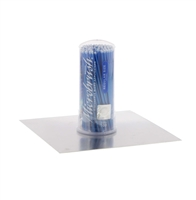 Microbrush Tube Series Regular, Blue, 100/Tube, MRB400