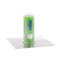 Microbrush Tube Series Regular, Green, 100/Tube, MRG400