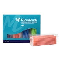 Microbrush Plus Regular, Dispenser Kit, Assorted, PR400-KIT