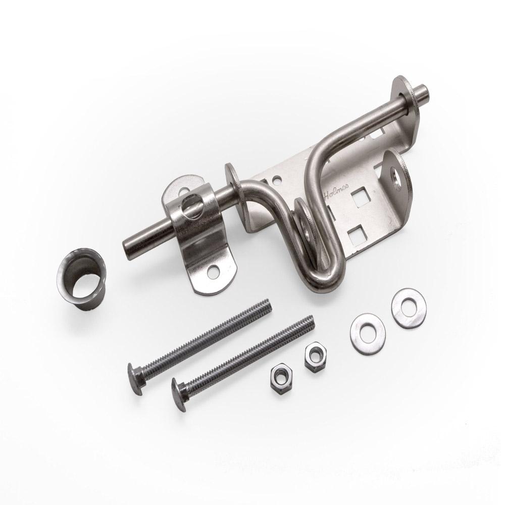 Al 2p Slide Bolt Lock Kit For 1 Piece Garage Doors