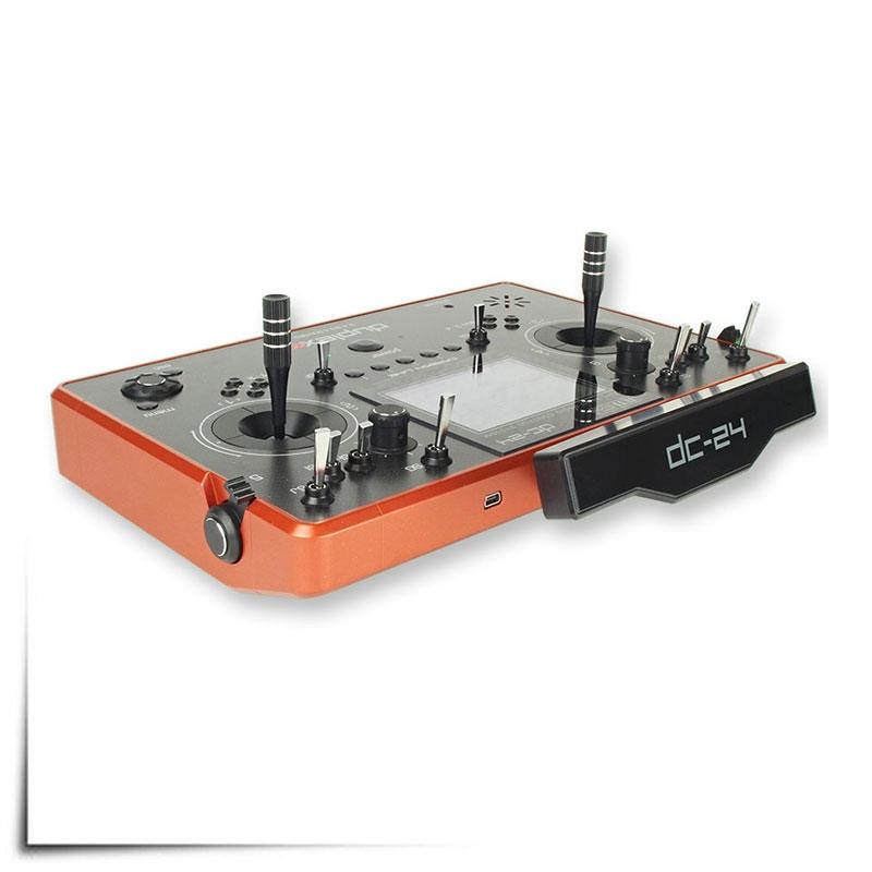 Jeti Duplex DC 24 Carbon Burnt Orange 24GHz 900MHz W Telemetry