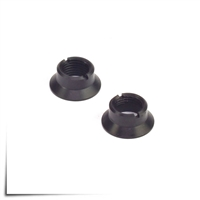 Jeti Transmitter Replacement Switch Nuts DC-24 Face (2) Black
