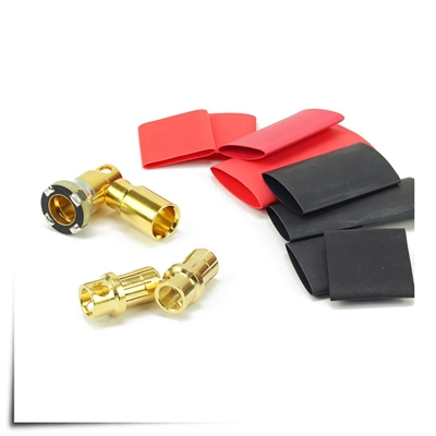 Jeti AFC Anti-Spark Connectors 8mm (300A) 5 Pair Pack