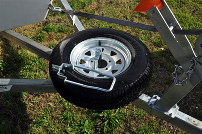 Spare Tire Carrier Lockable