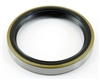 "Shaft Oil Seal 14875 Single Lip Nitrile Rotary 1 1/2""x 2 1/8""x 5/16"" metal case"