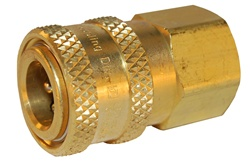 "QUICK COUPLER 1/4"" FEMALE X 1/4"" FPT"