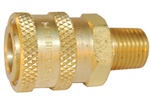 "QUICK COUPLER 1/4"" FEMALE X 1/4"" MPT"