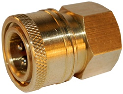 "QUICK COUPLER 3/8"" FEMALE X 3/8"" FPT"