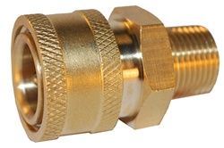 "QUICK COUPLER 3/8"" FEMALE X 3/8"" MPT"