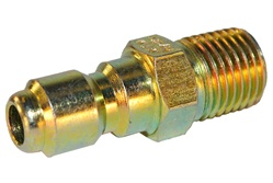 "QUICK COUPLER 1/4"" MALE X 1/4"" MPT"