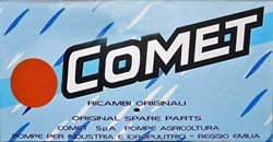COMET VRX SERIES 1700 PSI WATER SEAL KIT