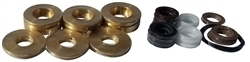 KARCHER / LEGACY PUMP U-SEALS WITH BRASS 18MM