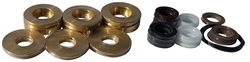 KARCHER / LEGACY PUMP U-SEALS WITH BRASS 16MM