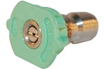 PRESSURE WASHER QC NOZZLE  GREEN