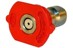 PRESSURE WASHER QC NOZZLE  RED
