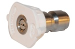 PRESSURE WASHER QC NOZZLE  WHITE