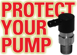 "THERMAL RELIEF VALVE / PUMP PROTECTOR  1/4"" MPT"